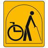Part-time wheelchair users
