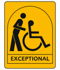 Assisted wheelchair users (Exceptional)