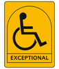 Independent wheelchair users (Exceptional)